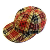 "LOW STRAP CAP ""MADRAS CHECK """