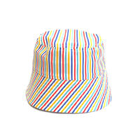 "BUCKET SLOPE HAT ""MULTI STRIPE"""