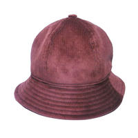 6P HAT   CORDUROY  BROWN
