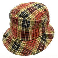 "BUCKET HAT  ""MADRAS CHECK"""