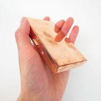 COPPER PLATED BRASS BOX CARDCASE