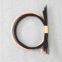 二重しめ飾り 黒金 PHC-087-3
