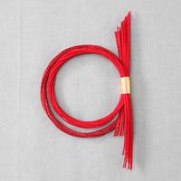 二重しめ飾り 紅 PHC-087-2
