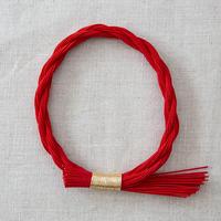 水引しめ飾り(ねじり)赤 PHC-071-3
