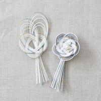 梅結び飾りセット レインボー PHC-072-3