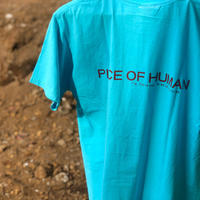 """piece of human"" LOGO wash  ""T"" [Lag/ Re]"