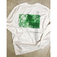 """WORLD WIDE"" longtee/white body"