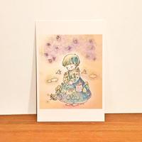 ポストカード(森のテウトニ)