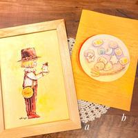 A4ポスター/ぼくとおばけちゃん/マシュマロしゅごれいちゃん/おばけフェア作品