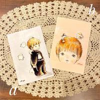 ポストカード/しゅごれいちゃんが守るよ/愛がいっぱいしゅごれいちゃん/おばけフェア作品