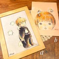 A4ポスター/しゅごれいちゃんが守るよ/愛がいっぱいしゅごれいちゃん/おばけフェア作品
