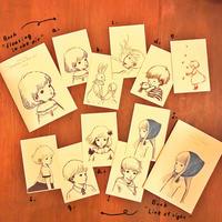 ポストカード(Drawing bookシリーズ)