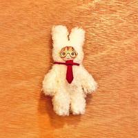 ふわふわぬいぐるみ(S)ハンドジョイントタイプ〈サラリーマンうさおさん〉メガネ/ネクタイ/セット