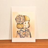 ポストカード(こぼれ落ちる涙)