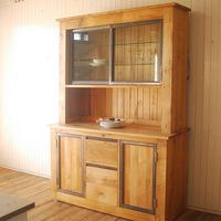 Old Oak Railway Cupboard