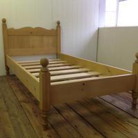 RUSTIC PINE BED シングルサイズ (試作品)