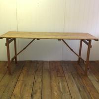 アンティークパインフォールディングテーブル