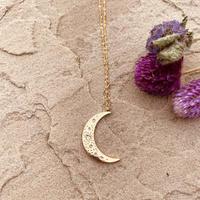marino big moon necklace