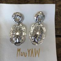 muuyaw concho circle silver pierce