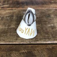 muuyaw shell silver ring