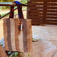 ecoRAL Raffia bag