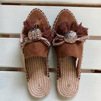 Jelly Espadrilles Brown Sサイズ