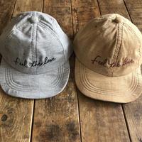 Leonaコーデュロイ刺繍cap