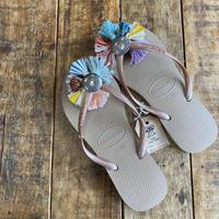Jelly Reto rainbow sandal 22