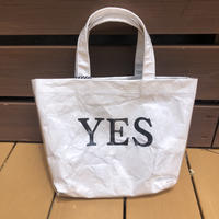 Daddy's girl yes/no ビニールタイペッグtotebag