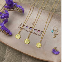ecoRAL coin necklace