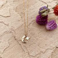 marino Moon&shiny ネックレス