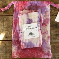 ecoRAL tie-dye socks 巾着付き⑧
