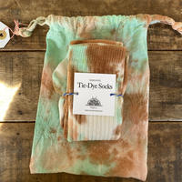 ecoRAL tie-dye socks 巾着付き⑦