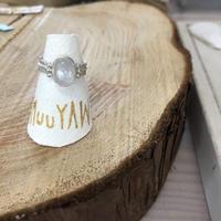 Muuyaw moonstone ring
