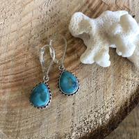 Turquoise Drop pierce 6