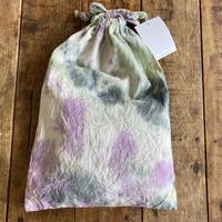 ecoRAL tie-dye mini巾着②