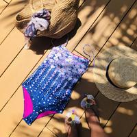 Leona Daisy one piece purple