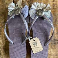 Jelly Lilac Beige mix sandal 28