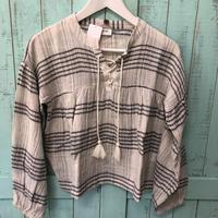 SaintHelena Valencia smock blouse