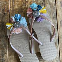 Jelly Retro rainbow sandal 21