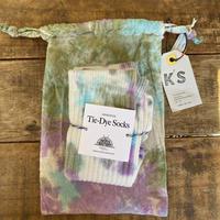 ecoRAL tie-dye socks 巾着付き④
