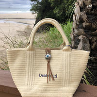 Daddy's girl paper tote bag