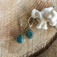 Turquoise Drop pierce 7