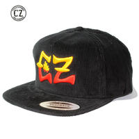 Cycle Zombies(サイクルゾンビーズ) BLACK x CZ Premium Chord Snap Back Black