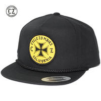 Cycle Zombies(サイクルゾンビーズ) CLOCK WORK Premium Poplin Golf Snapback Black