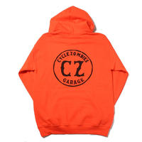 Cycle Zombies(サイクルゾンビーズ)GARAGE Pull Over Hooded Sweatshirt Orange