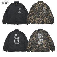 EVILACT(イーブルアクト) Reflective O.W.L. Coach Jacket (ブラック・カモ)