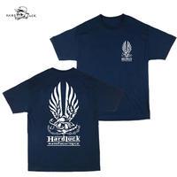 HARD LUCK(ハードラック)HARD BOND S/S TEE ネイビー