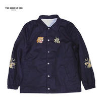 THE HIGHEST END( ザハイエイス トエンド)TO043 Cotton Coach Jacket ブラック