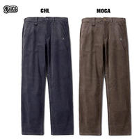 BLUCO(ブルコ) OL-003C-019 5POCKET WORK PANTS -corduroy- チャコール/モカ